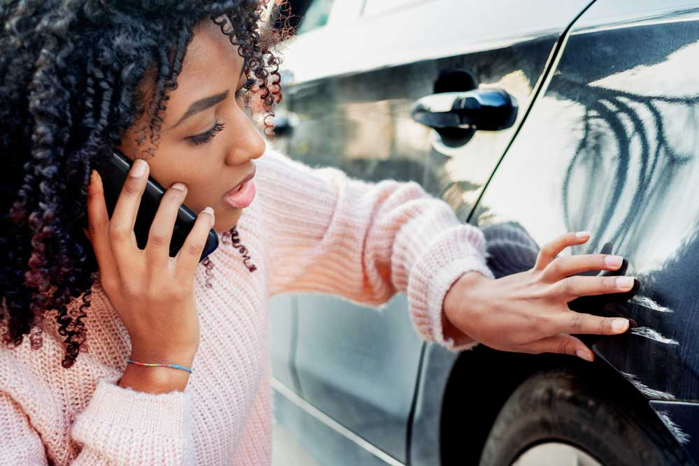Steps to handling a car accident with an uninsured driver